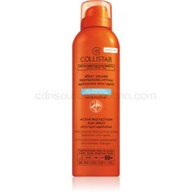 Collistar Sun Protection ochranný sprej na tvár a telo SPF 50+ 150 ml