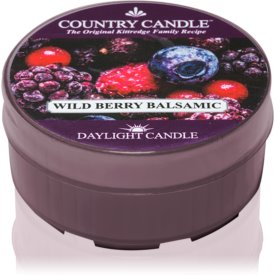 Country Candle Wild Berry Balsamic čajová sviečka 42 g