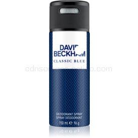 David Beckham Classic Blue dezodorant v spreji pre mužov 150 ml