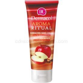 Dermacol Aroma Ritual hrejivý krém na ruky jablko a škorica 100 ml