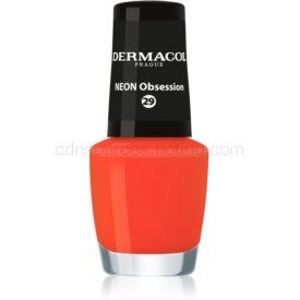 Dermacol Neon neónový lak na nechty odtieň 29 Obsession 5 ml