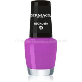 Dermacol Neon neónový lak na nechty odtieň 31 Jelly 5 ml