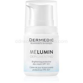 Dermedic Melumin zosvetľujúci krém na pigmentové škvrny SPF 50+ 55 g