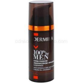 Dermika 100% for Men krém proti hlbokým vráskam 50+ 50 ml