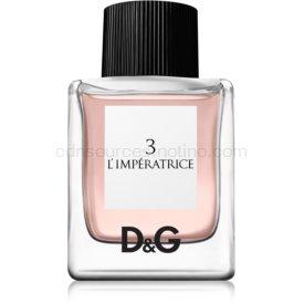 Dolce & Gabbana 3 L'Imperatrice toaletná voda pre ženy 50 ml