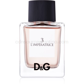 Dolce & Gabbana D&G Anthology L'Imperatrice 3 toaletná voda pre ženy 50 ml