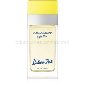Dolce & Gabbana Light Blue Italian Zest toaletná voda pre ženy 50 ml