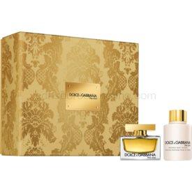 Dolce & Gabbana The One darčeková sada XIII. parfém 30 ml + telové mlieko 100 ml