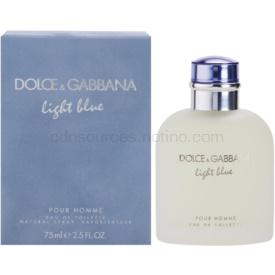 Dolce & Gabbana Light Blue Pour Homme toaletná voda pre mužov 75 ml