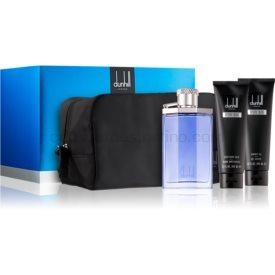 Dunhill Desire Blue darčeková sada V. toaletná voda 100 ml + sprchový gel 90 ml + balzam po holení 90 ml + kozmetická taška