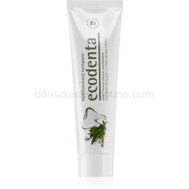 Ecodenta Green Multifunctional zubná pasta s fluoridom pre kompletnú ochranu zubov 100 ml