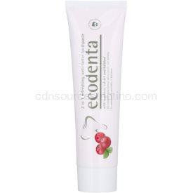 Ecodenta Kalident osviežujúca zubná pasta proti zubnému kameňu 2 v 1 príchuť Cranberry 100 ml