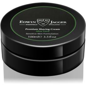 EDWIN JAGGER Aloe Vera krém na holenie pre citlivú pleť 100 ml