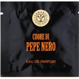 Erbario Toscano Black Pepper parfémované obrúsky pre mužov 7 ks