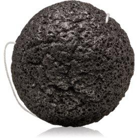 Erborian Accessories Konjac Sponge jemná exfoliačná hubka na tvár a telo Bamboo Charcoal