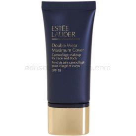 Estée Lauder Double Wear Maximum Cover krycí make-up na tvár a telo odtieň 1N3 Creamy Vanilla SPF 15 30 ml