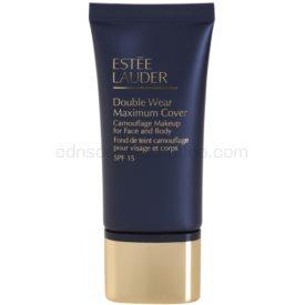 Estée Lauder Double Wear Maximum Cover krycí make-up na tvár a telo odtieň 2W2 Rattan SPF 15 30 ml