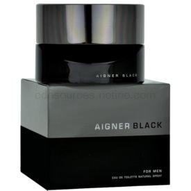 Etienne Aigner Black for Man toaletná voda pre mužov 125 ml