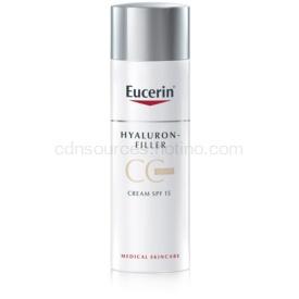 Eucerin Hyaluron-Filler CC krém proti hlbokým vráskam SPF 15 odtieň Light/Natural 50 ml