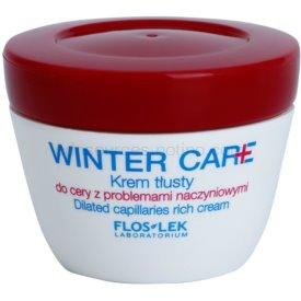 FlosLek Laboratorium Winter Care bohatý ochranný krém pre citlivú pleť so sklonom k začervenaniu 50 ml