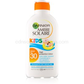 Garnier Ambre Solaire Kids ochranné mlieko pre deti SPF 30 200 ml