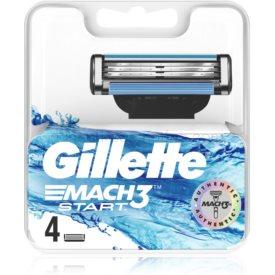 Gillette Mach3 Start náhradné žiletky 4 ks