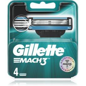 Gillette Mach3 náhradné žiletky 4 ks