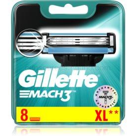 Gillette Mach3 náhradné žiletky 8 ks