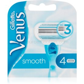 Gillette Venus Smooth náhradné žiletky 4 ks