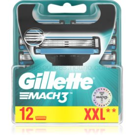Gillette Mach3 náhradné žiletky 12 ks