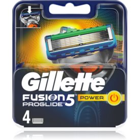 Gillette Fusion5 Proglide Power náhradné žiletky 4 ks