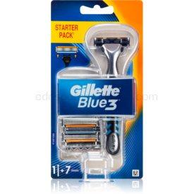 Gillette Blue3 holiaci strojček + náhradné hlavice 7 ks