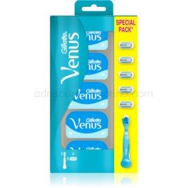 Gillette Venus Smooth holiaci strojček + náhradné hlavice 5 ks