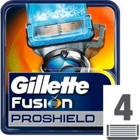 Gillette Fusion Proshield náhradné žiletky 4 ks