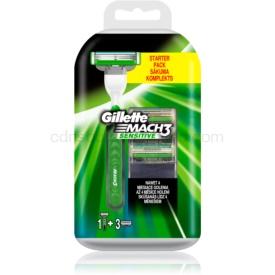Gillette Mach3 Sensitive holiaci strojček náhradné čepieľky 3 ks