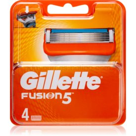 Gillette Fusion náhradné žiletky 4 Ks
