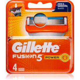Gillette Fusion5 Power náhradné žiletky 4 ks