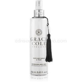 Grace Cole White Nectarine & Pear hydratačná hmla na telo 250 ml