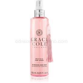 Grace Cole Wild Fig & Pink Cedar osviežujúca hmla na telo 250 ml