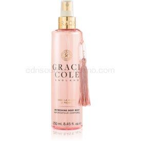 Grace Cole Vanilla Blush & Peony osviežujúca hmla na telo 250 ml