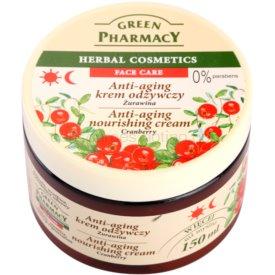 Green Pharmacy Face Care Cranberry výživný krém proti starnutiu pleti 150 ml
