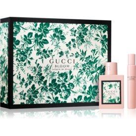 Gucci Bloom Acqua di Fiori darčeková sada I. toaletná voda 50 ml + toaletná voda roll-on 7,4 ml