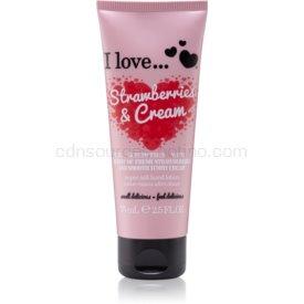 I love... Strawberries & Cream krém na ruky 75 ml