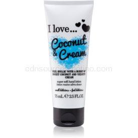 I love... Coconut & Cream krém na ruky 75 ml
