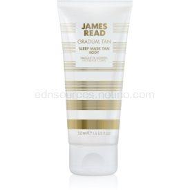 James Read Gradual Tan samoopaľovacia nočná hydratačná maska na telo 50 ml