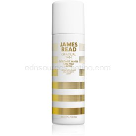 James Read Gradual Tan Coconut Water samoopaľovacia hmla na telo odtieň Light/Medium 200 ml