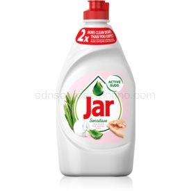 Jar Sensitive Aloe Vera & Pink Jasmine prostriedok na umývanie riadu 450 ml