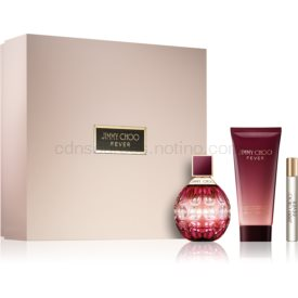 Jimmy Choo Fever darčeková sada III. parfém 100 ml + telové mlieko 100 ml + parfém 7,5 ml