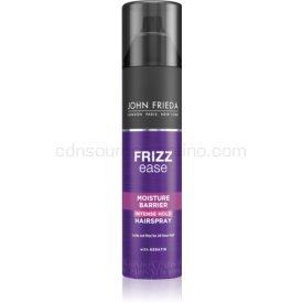 John Frieda Frizz Ease Moisture Barrier lak so silnou fixáciou pre vlnité vlasy a vlasy po trvalej 250 ml