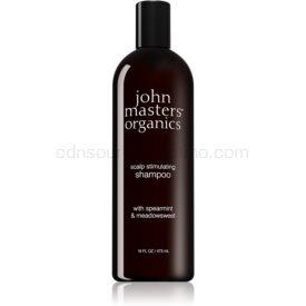 John Masters Organics Scalp stimulujúci šampón pre mastné vlasy a vlasovú pokožku 473 ml